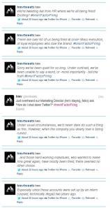 HMV+Twitter+firing