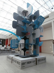 The #Ecototem in all its glory at Ecobuild 2013.